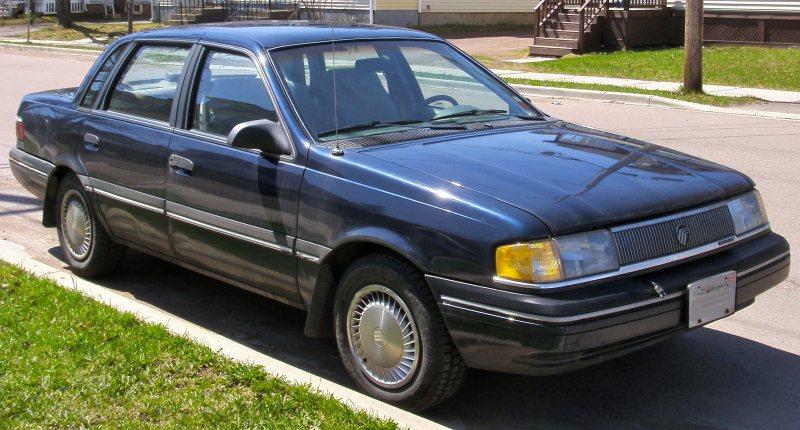 ТОП-10 самых хулиганских авто в США. Mercury Topaz